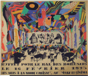 yougo dadaist spectacle 1002 night (poster)